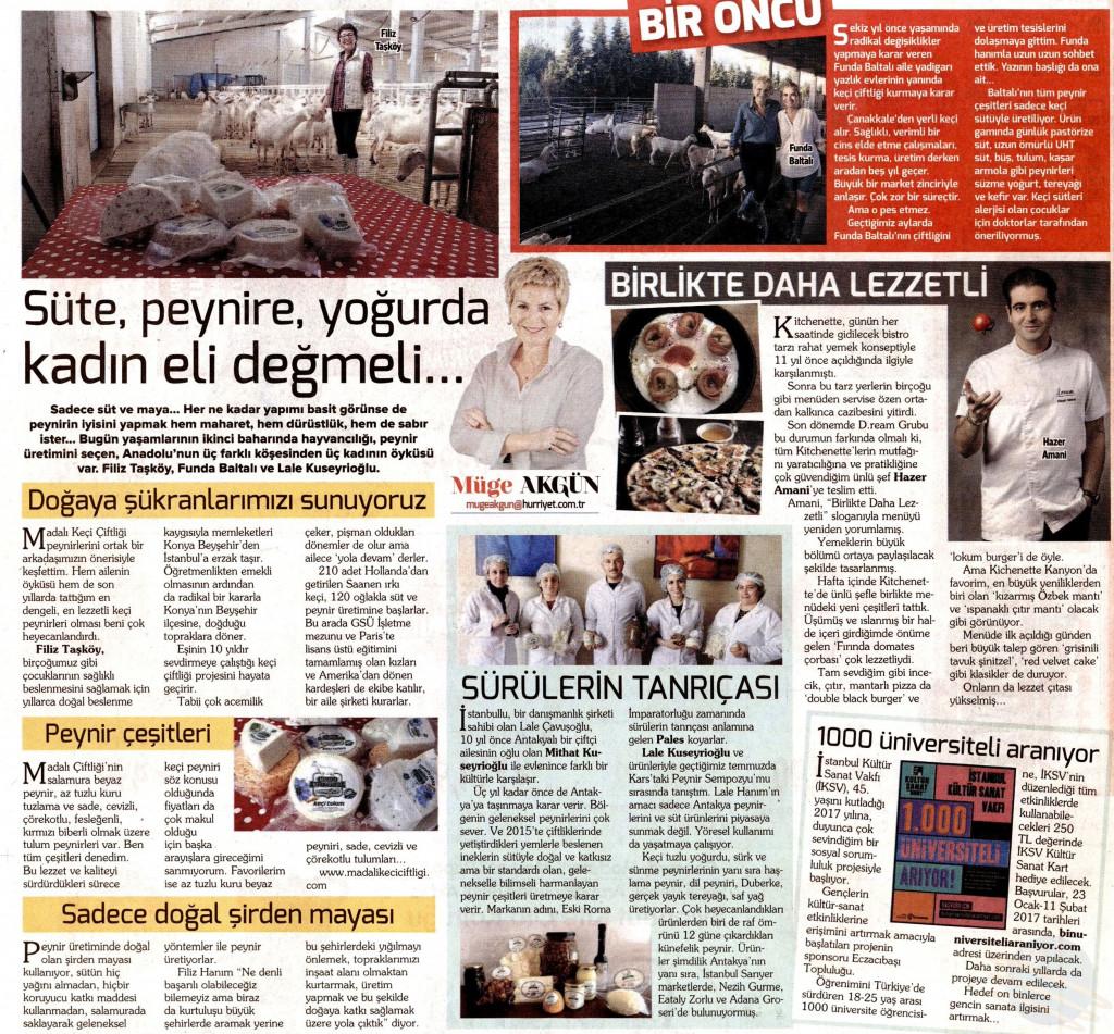 Hürriyet Kelebek-21.01.2017